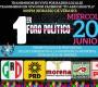 Realizarán por primera vez debate presidencial en Huautla de Jiménez