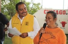 Trabajará Horacio Antonio desde el Congreso Local  en beneficio de las familias de Santa Cruz Xoxocotlán