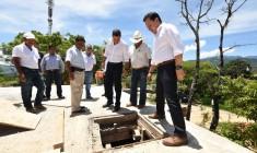 Supervisa Gobierno de Oaxaca acciones para mejorar el suministro de agua potable en Putla Villa de Guerrero