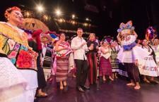 """Inaugura Alejandro Murat las fiestas de  """"Julio, Mes de la Guelaguetza"""" en Oaxaca"""