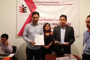 Autoridades electorales avalan triunfo de Alejandro López Jarquín en Xoxocotlán (1)
