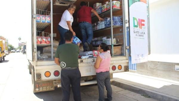 Llegan tiendas móviles de DICONSA a agencias y colonias de Santa Lucía