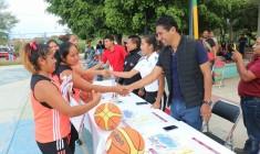 Iniciará nueva temporada de la Liga de Básquetbol Municipal en Xoxocotlán