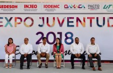 "Inauguran Expo Juventud 2018 ""El Poder de Ser Joven"""