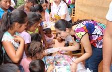 Sedesoh fortalece atención a municipios prioritarios como Santos Reyes Yucuná
