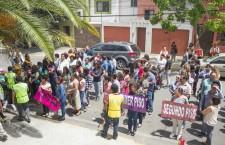 Participan escolares oaxaqueños en Macrosimulacro Nacional 2018