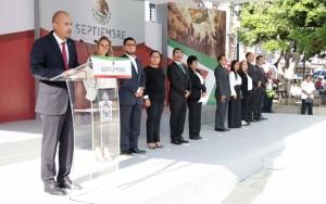 DIF Estatal Oaxaca encabeza izamiento a nuestro lábaro patrio en la capital oaxaqueña 4