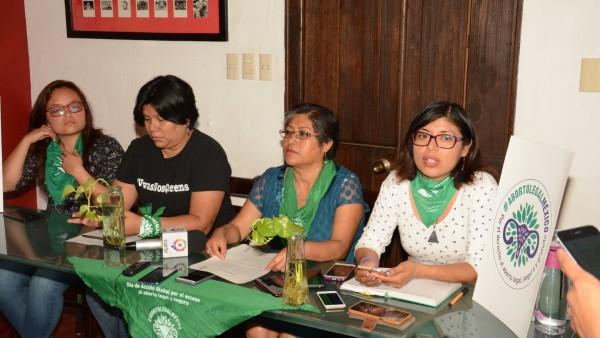 Anuncia Marea Verde marcha por la despenalización del aborto