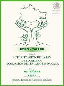 Foro Ley Equilibrio ecológico