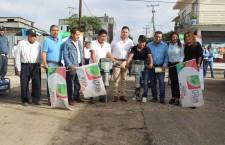 Se sigue avanzando en Santa Lucía del Camino con obras que mejoran la calidad de vida de los vecinos.