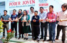 Brindan a jóvenes de Xoxocotlán espacios de aprendizaje y esparcimiento