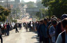 Marcha Organización 23 de Octubre a 8 años del asesinato de Heriberto Pazos