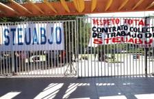 Emplaza STEUABJO a huelga; exigen el pago del bono del dos por ciento a Rectoría