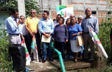 Realiza Gobierno de Santa Lucía rehabilitación de los pozos de Ixcotel