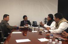 Comisión negociadora de la FNSCB se reúne con Diputados Federales de Oaxaca