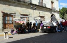 Protesta FIPOO contra sub secretario de Finanzas