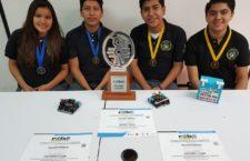 El Club de Robótica y multimedia Tuxes Oaxaca, gana primer lugar en competencia continental