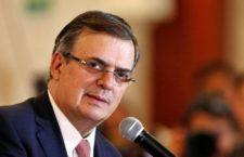 Senado deberá ratificar o no nombramiento de Ebrard como titular de la SRE