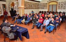 Sostiene edil capitalino reunión con la Unión de  Organizaciones de Taxistas del Estado de Oaxaca