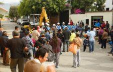 Gobierno municipal impulsa desarrollo social en Santa Lucía con obra hidráulica de la colonia Guelatao