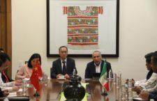 Acuerdan China y Oaxaca trabajar en materia de Sismos