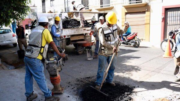 Comienza programa emergente de bacheo en la capital: SAPAO