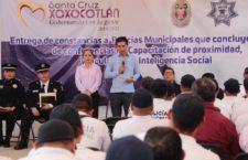 Alejandro López Jarquín dignifica cuerpos policiales de Xoxocotlán
