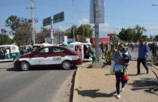 Bloquean cruceros integrantes del Sindicato Libertad; fueron retirados por las fuerzas de seguridad