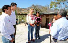 Ivette Morán de Murat reafirma su compromiso de trabajar en beneficio de las familias de San Bartolo Yautepec