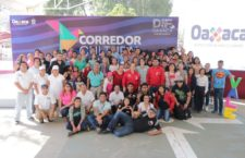 DIF Estatal Oaxaca realiza Primer Corredor Cultural En Familia 2019