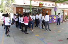 Participan Docentes de Preescolar en Rally Pedagógico Deportivo