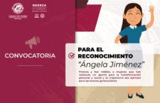 """Ayuntamiento capitalino convoca a postular mujeres para recibir el """"Reconocimiento Ángela Jiménez"""""""