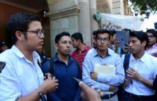 Piden estudiantes del ITO apoyo al gobierno estatal ante necesidades que enfrenta la institución