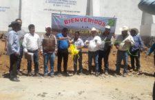 """Entrega Sedapa """"aljibe de almacenamiento de agua"""" en San Ildefonso Ozolotepec"""