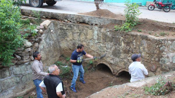 Gobierno Municipal y vecinos de Montoya hacen posible el segundo Tequio Ciudadano
