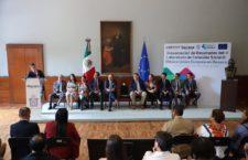 Reconoce Alejandro Murat aportación de la Unión Europea en Oaxaca para fortalecer la cohesión social