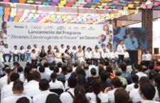 Las y los jóvenes son importantes para el presente y el futuro de Oaxaca: AMH