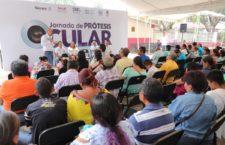 DIF Estatal Oaxaca, UNAM y UABJO realizan exitosa jornada gratuita de prótesis ocular