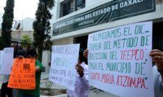 Viola IEEPCO derecho de votar y ser votados a vecinos de las colonias de Atzompa
