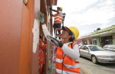 Ayuntamiento y ciudadanía dan color al Centro Histórico de Oaxaca