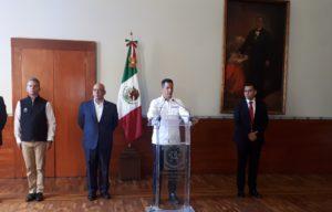 Nombra el gobernador Alejandro Murat a Raúl Ernesto Salcedo como nuevo secretario de Seguridad