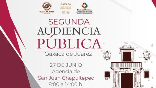 Encabezará Oswaldo García audiencia pública en San Juan Chapultepec