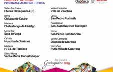 52 Delegaciones mostrarán sus bailes en la Guelaguetza 2019
