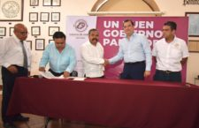 Concreta edil Oswaldo García histórico incremento de 4% para el Fondo de Pensiones
