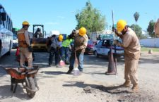 Repara Gobierno capitalino 5 mil metros cuadrados de vialidades con programa de bacheo