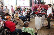 Gobierno capitalino capacita a trabajadores de limpia para preservar el parque vehicular