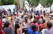 Avanza Gobierno de Oaxaca de Juárez con la renovación de Comvives