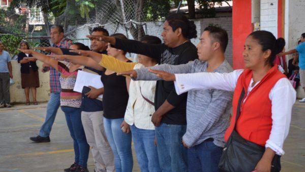 Conduce Gobierno capitalino elección de Comvives en Santa Rosa Panzacola