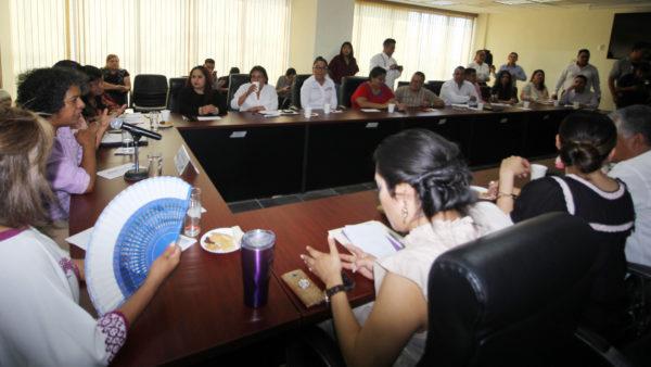Diputados locales coordinan acciones con la titular de CONAVIM para erradicar violencia