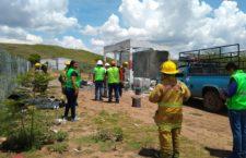 Se activa operativo por explosión de polvorín en Ocotlán